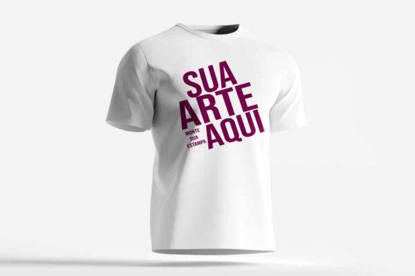 Camiseta Branca Personalizada