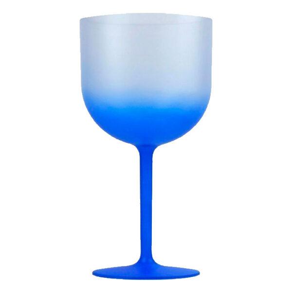 taça de gin degrade azul