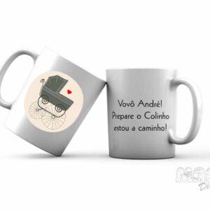 Chá Revelação Caneca