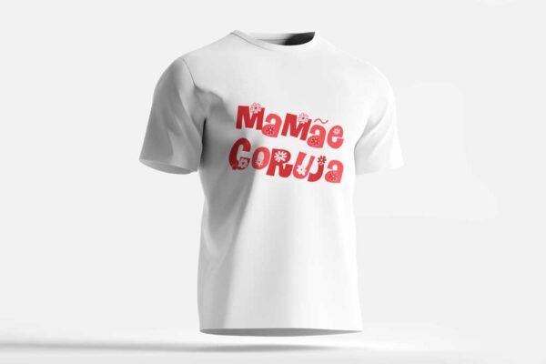 Camiseta Mamãe Coruja