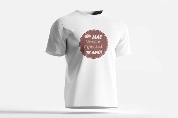 camiseta mãe você é especial