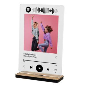 Placa Spotify
