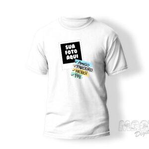 Camiseta pai com foto