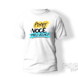 camiseta pai amo você