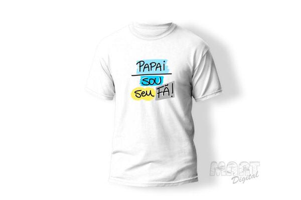 camiseta papai sou seu fã